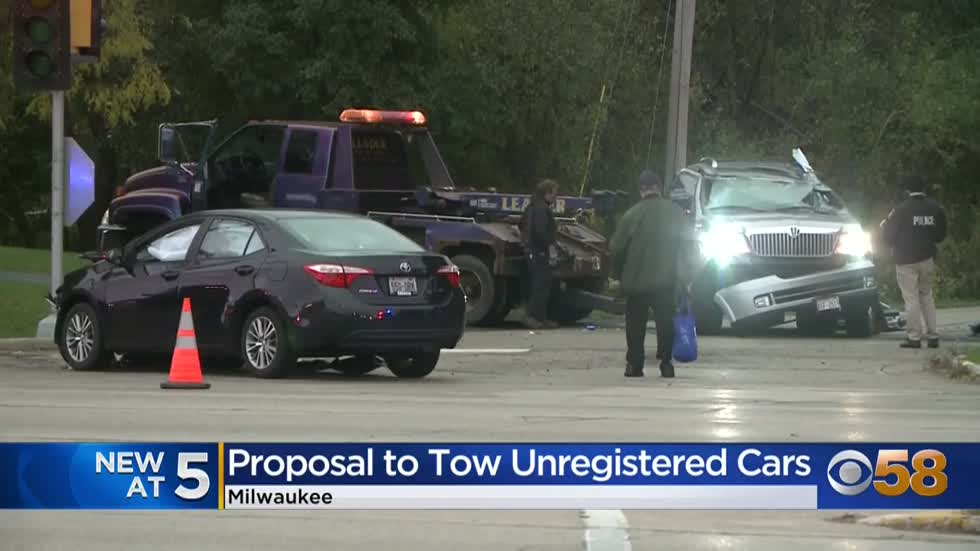 Milwaukee aldermen call for unregistered vehicles in Milwaukee...